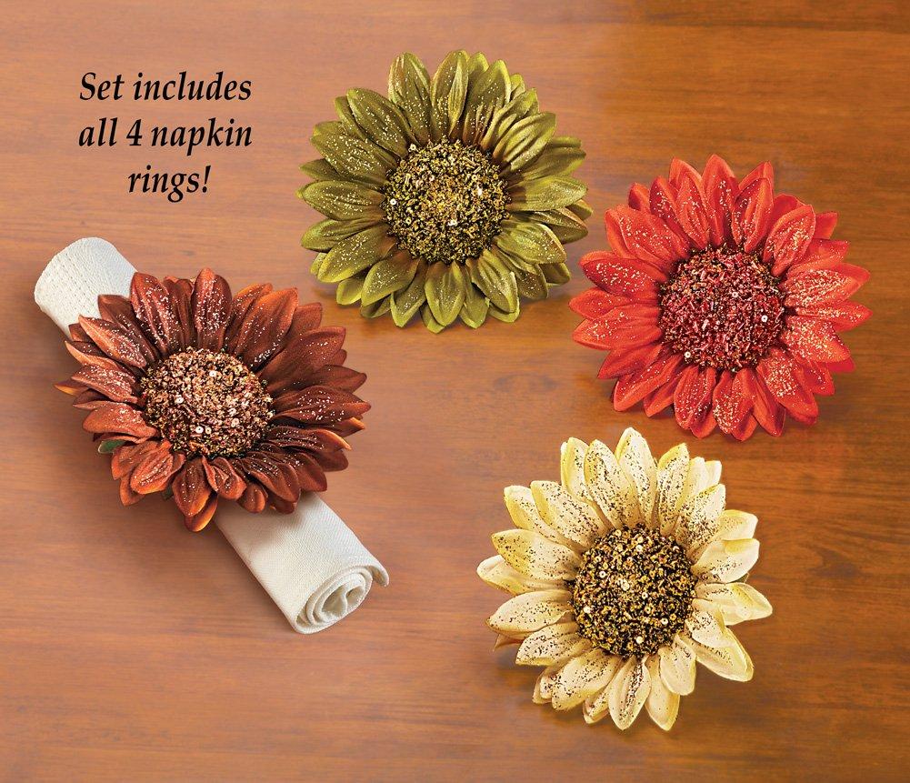 thanksgiving flowers napkin rings thanksgiving wikii