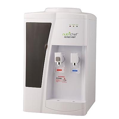 Nutrichef Countertop Water Cooler Dispenser Via Amazon