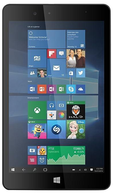 """Linx LINX810B Tablette tactile 8"""" (20,32 cm) (32 Go, Windows 8, 1 Port USB 2.0, 1 Prise jack, Noir)"""