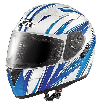 AXO mS1P0025 bGW casque goblin wave, bleu, taille :  xL/gris/blanc