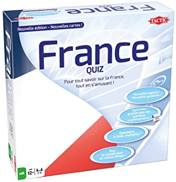 Tactic - 53687 - France Quiz Nouvelle Édition - Multicolore