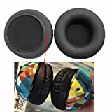 Aleicx Skullcandy Hesh 2 Headphone Covers Earpads, Ear Pads Ear Cups Replacement Cover for Skullcandy HESH2.0 HESH2 Hesh Headphones(Headset Cushion) Nondestructive Quality Fur Earmuffs (Black) (Color: Black)