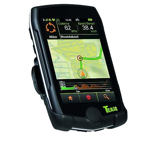 Teasi one GPS de randonnée pédestre ou cycliste avec Bluetooth Noir