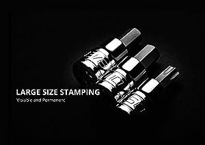 Capri Tools 30037 14mm XZN Triple Square Bit Socket with 1/2-Inch Drive (Tamaño: 14mm (M14))