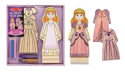 Décorer soi-même en bois magnétique princesse Fashions-