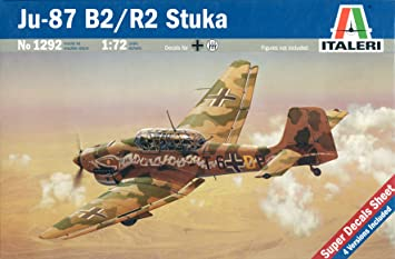 Italeri - I1292 - Maquette - Aviation - Junkers JU87B-2 Stuka - Echelle 1:72