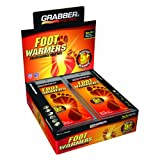 Grabber Outdoors 5 Hour Foot Warmers - 1 Box of 30 Pairs
