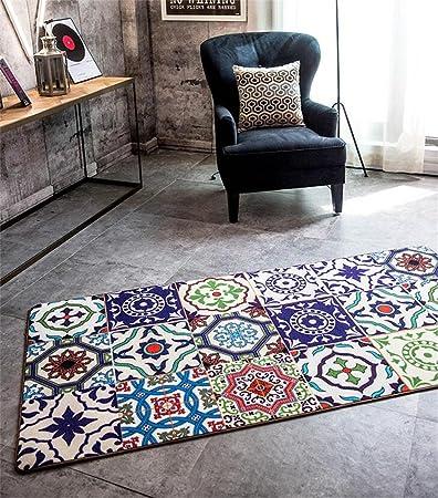MEHE@ moda personalidad creativo Moda étnica personalidad creativa alfombra de la sala Mesa de centro moderna Felpudos Alfombras ( Tamaño : 80CM×240CM )