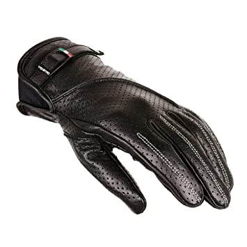 V Quattro Design V4G-LILA-BKL Gants de Moto Lila, Noir, 9