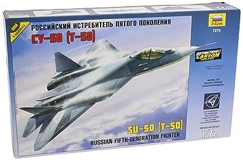 Zvezda - Z7275 - Maquette - Sukhoï T-50 - Echelle 1:72