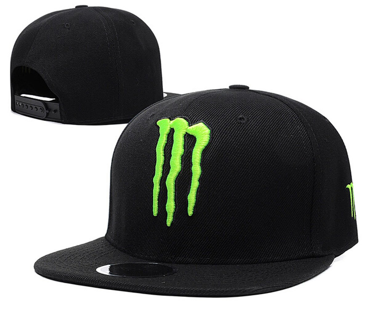 Monster Embroidered Snapback Cap by Jersey