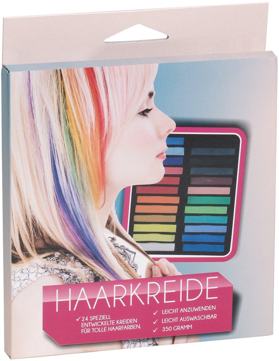 Haarkreide 24 Stück XXL. Farben zum einfärben