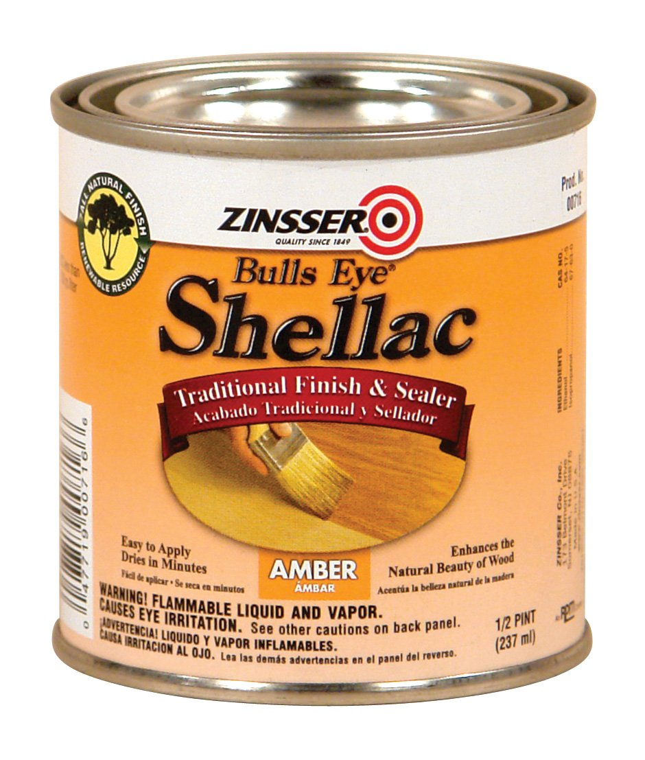 Rust-Oleum 716 Bulls Eye Amber Shellac, 1/2-Pint купить steam аккаунт rust онлайн магазин