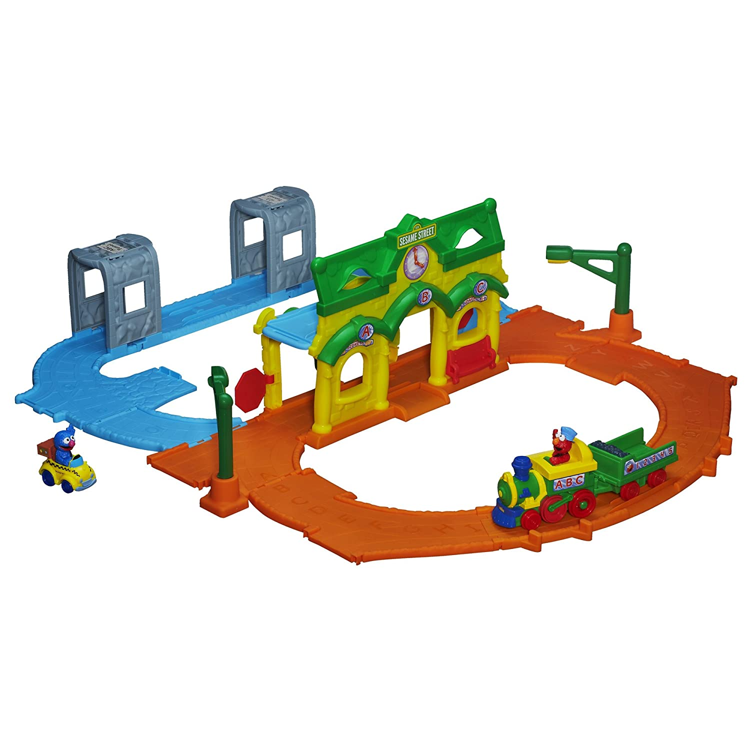 Playskool Sesame Street Elmo Junction Train Set $19.99