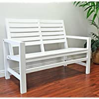 Shine Company 4224 Contemporary Bench (Multiple Colors)