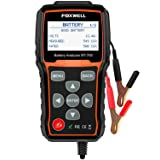 Battery Tester FOXWELL BT705 Automotive 100-2000 CCA Battery Load Tester, 12V 24V Car Cranking and Charging System Test Scan Tool Digital Battery Analyzer for Cars and Heavy Duty Trucks (Color: BT705 Battery Tester, Tamaño: car battery tester)