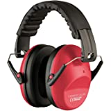Vanderfields EF5005 Hearing Protection Earmuffs - Male and Female Adult Size - Color Red (Color: Red)