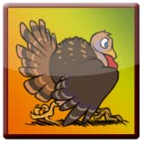 Halloween Turkey Run Live Wallpaper