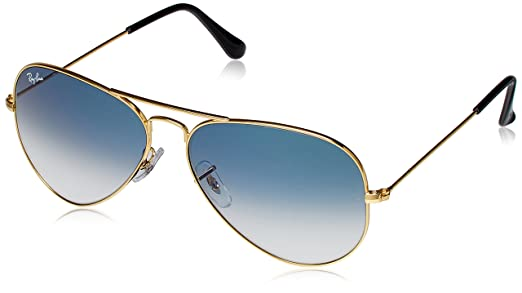ray ban aviator glasses 868r  Ray-Ban Aviator Sunglasses Gold RB3025 001/3F58