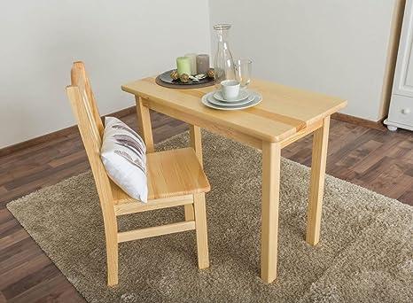 Tisch 50x100 cm, Farbe: Natur