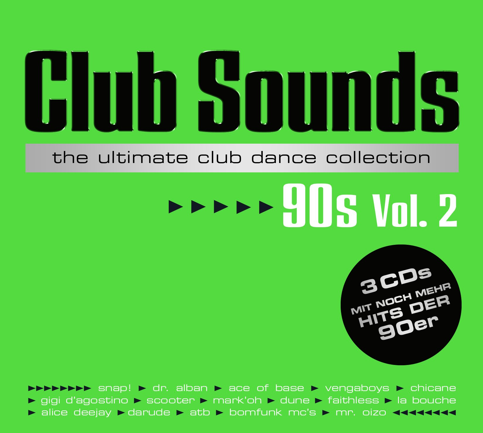 VA-Club Sounds The Ultimate Club Dance Collection 90s Vol. 2-PROPER-3CD-FLAC-2016-NBFLAC Download