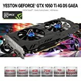 MChoice Yeston Geforce GTX 1050Ti GPU 4GB GDDR5 128bit Gaming Desktop Computer PC Support Video Graphics Cards PCI-E X16 3.0 ti