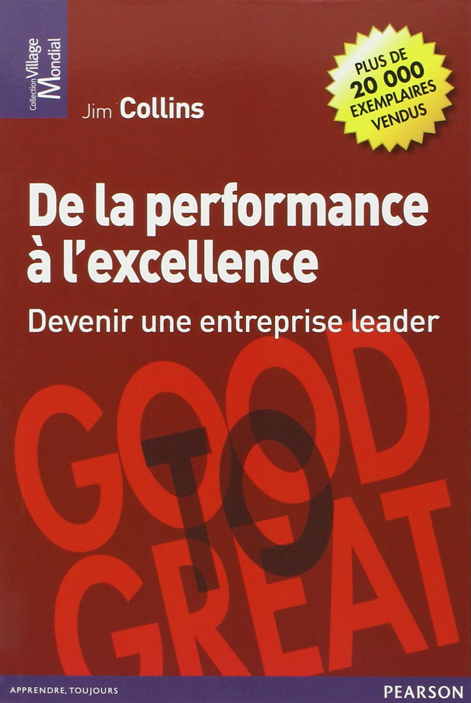 De la performance à l'excellence livres