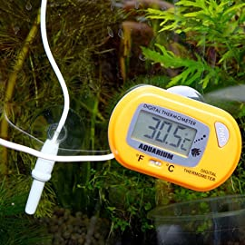 AODE® Digital LCD Aquarium Thermometer Fish Tank Water Terrarium Temperature