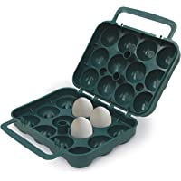 Stansport 266 12 Egg Container for Camping and Travel (Green)