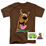 Scooby-Doo Face T Shirt (XX-Large) (Color: A. Face Brown, Tamaño: XX-Large)