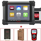Autel MaxiSys Pro MS908P ECU Programming Automotive Diagnostic Scan Tool + MV105 5.5 mm Videoscope + MaxiScope MP408 Diagnostic Oscilloscope MaxiTPMS TS401 Tire Pressure Monitoring Tool