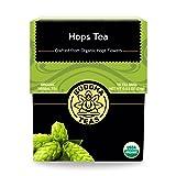 Organic Hops Tea - Kosher, Caffeine Free, GMO-Free - 18 Bleach Free Tea Bags