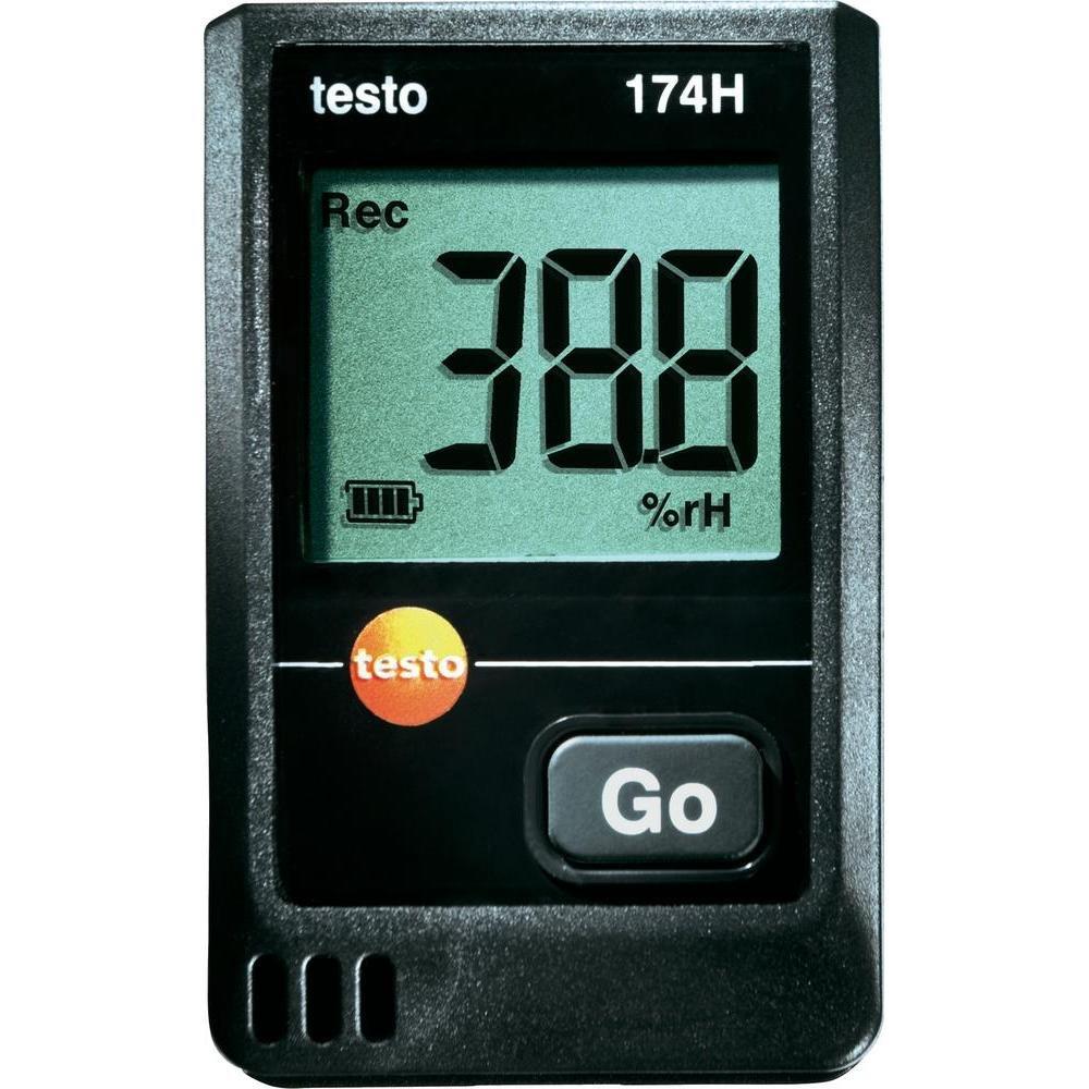 Testo 0572 6560 174H MiniDatenlogger, 2Kanal, inklusive Wandhalterung, Batterie (2 x CR 2032 Lithium) und Kalibrierprotokoll  BaumarktKritiken und weitere Informationen
