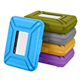 [5-Colors]SISUN 3.5 inch Anti-Static HDD Protector Case , 3.5