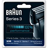 Braun Series 3 Combi 30b Foil And Cutter Replacement Pack (7000/4000 Series) New Super Size Package (2 Replacements)