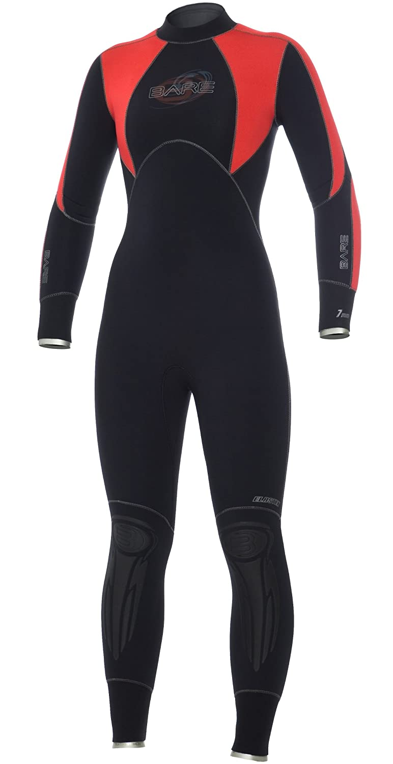 Bare-7mm-Elastek-Womens-Full-Suit-Scuba-Diving-Wetsuit