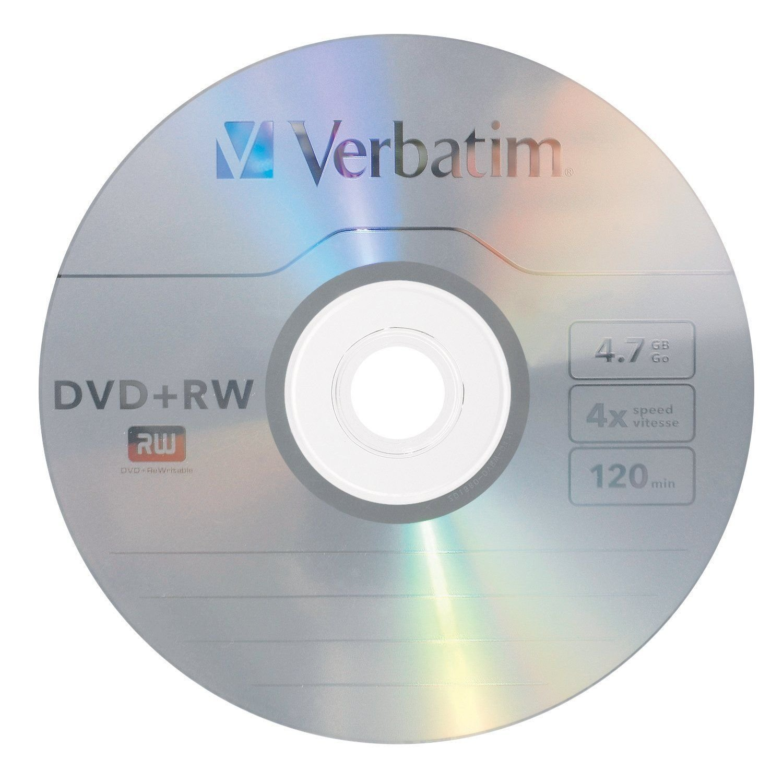 verbatim 4 7 gb 1x 4x rewritable disc dvd plus rw 30 disc spindle 94834 new ebay. Black Bedroom Furniture Sets. Home Design Ideas