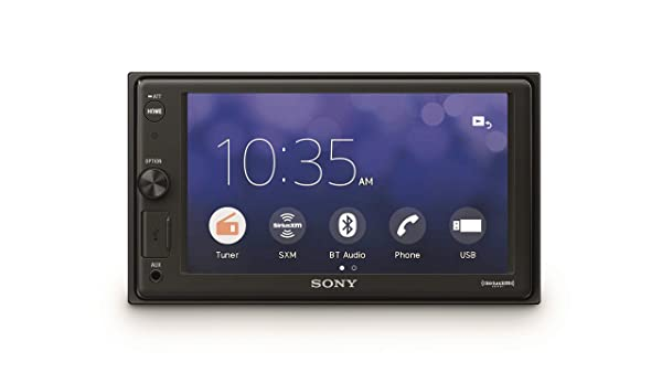 Sony XAVV10BT 15.7cm (6.2 inch) Media Receiver with Bluetooth (Tamaño: 6.2 inches)