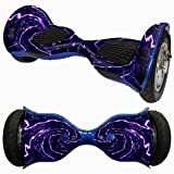 Vibola 10 Inch Skin Hover Electric Skate Board Sticker Self-Balancing Scooter Two-Wheel Smart Protective Cover Case Stickers (without Balancing Scooter) (G) (Color: G)