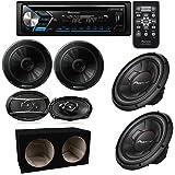 Pioneer DEH-S4000BT CD/AM/FM Stereo Receiver w/Bluetooth/Pandora TS-A6966R 6