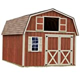 Best Barns Millcreek 12' X 20' Wood Shed Kit