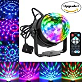 Party Lights Disco Ball Dj Lights, Blingco Disco Lights Sound Activated Strobe Lights Party Ball Light LED Stage Lights Effect Show Lighting Disco Lig