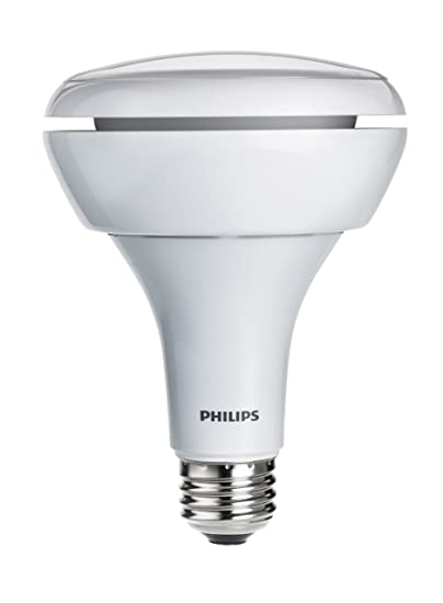 Philips 429282 10.5-Watt (65-Watt) BR30 Indoor Flood LED Light Bulb, Dimmable