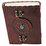 Medieval Handmade Magical Bloodstone Journal