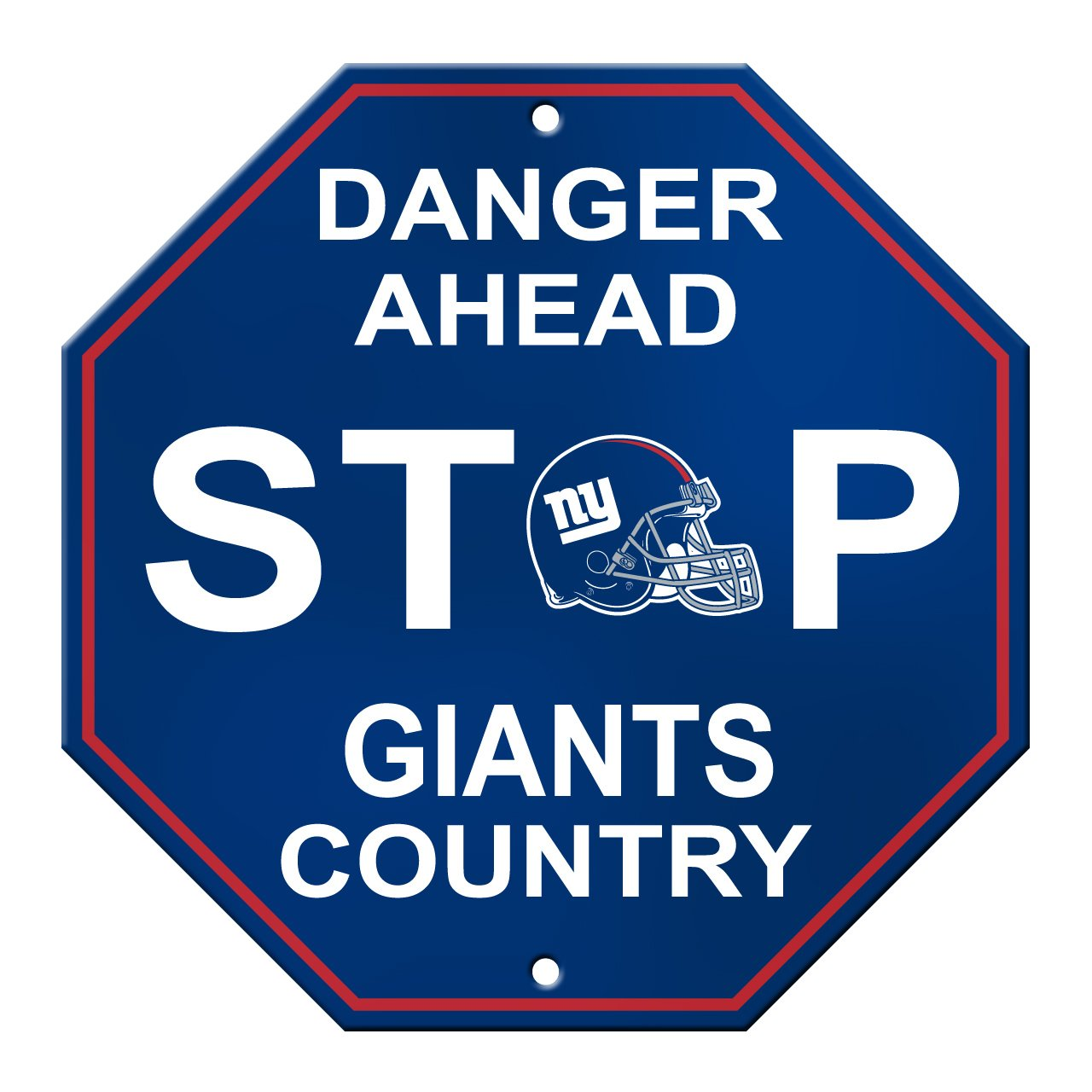 Stop Signs in Spain Nfl New York Giants Stop Sign