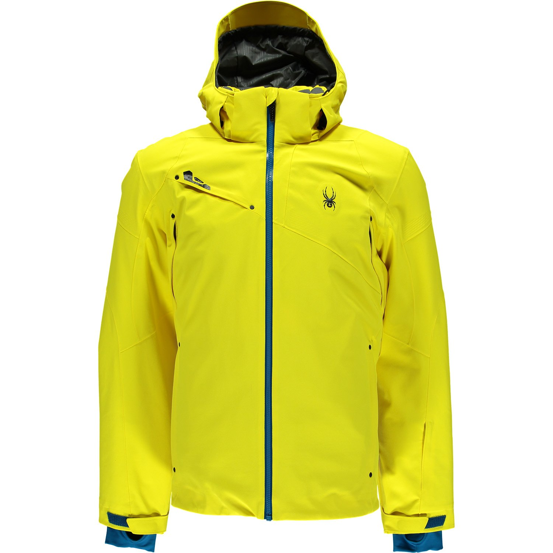 spyder herren 153036 731 skijacke alyeska jacket sun concept blue jetzt kaufen. Black Bedroom Furniture Sets. Home Design Ideas