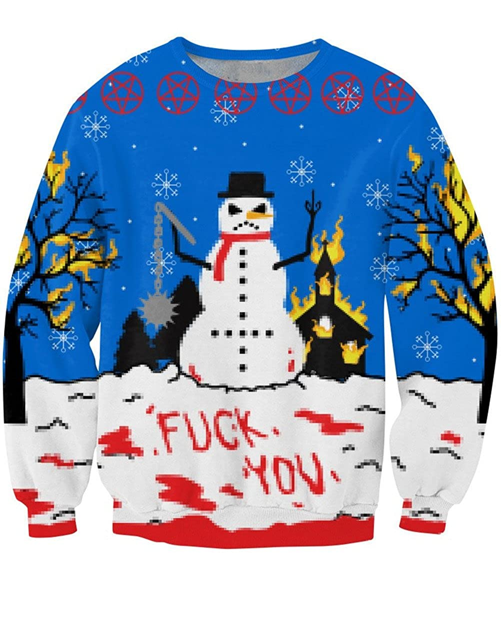 naughty christmas sweater