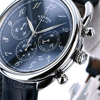 エルメス HERMES アルソー クロノグラフ AR4.910A 中古 腕時計 メンズ (W191071) [並行輸入品]