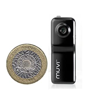 Veho VCC-003-MUVI-BLK MUVI Micro digital camcorder for Action Sports/Surveillance (Includes 2Gb Memory)