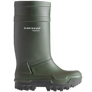 Dunlop C662933 S5 THERMO+ GROEN 9, UnisexErwachsene Langschaft Gummistiefel  Schuhe & HandtaschenÜberprüfung und Beschreibung